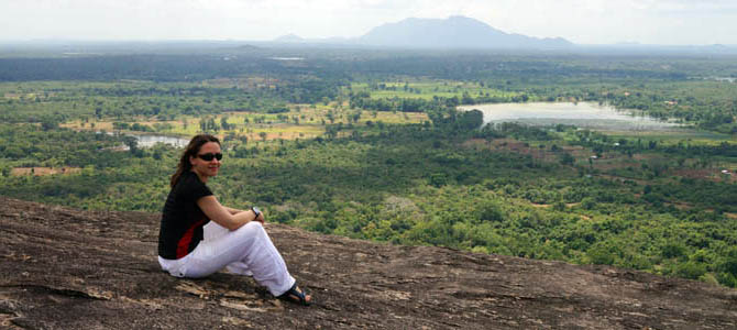 Day 6 – Pidurangala rock in Sigiriya