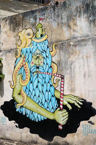 Galle graffiti