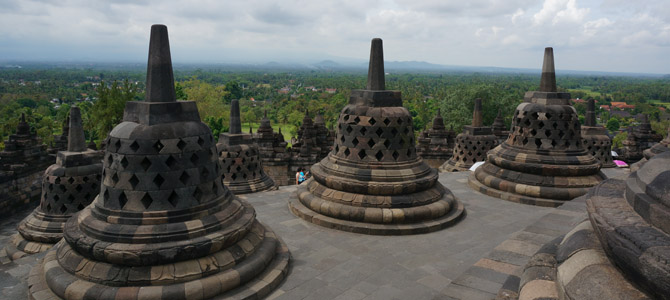 Java Day 4 – Majestic Borobudur temple