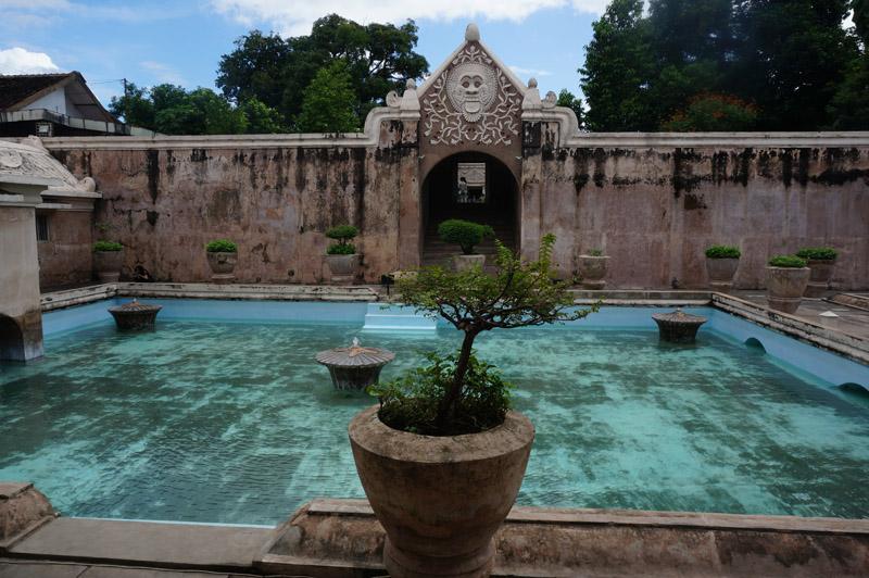 Taman Sari Water Castle in Yogyakarta