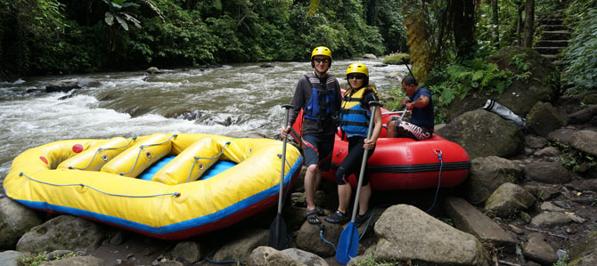 Bali Day 9 – White water rafting on Ayung River